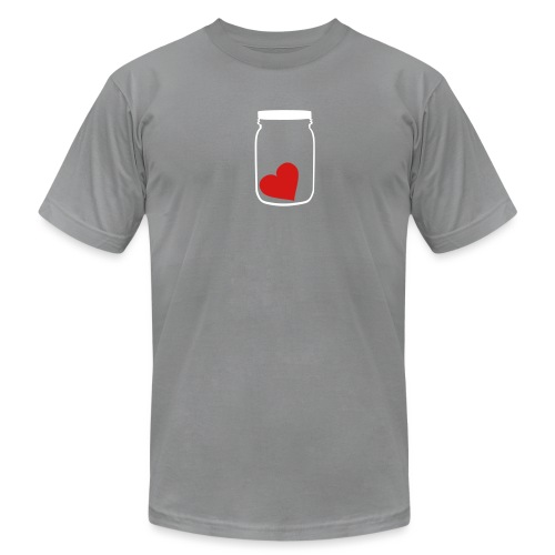 [heartjar] - Men's T-Shirt by American Apparel
