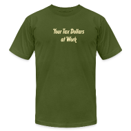 T-Shirts ~ Men's T-Shirt by American Apparel ~ [taxdollars]