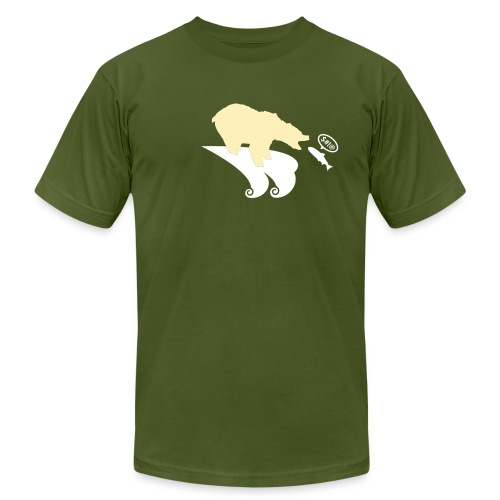 [bear] - Men's T-Shirt by American Apparel