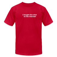 T-Shirts ~ Men's T-Shirt by American Apparel ~ [bought]