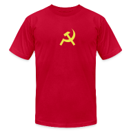 T-Shirts ~ Men's T-Shirt by American Apparel ~ [commie]