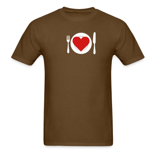 [heartmeal] - Men's T-Shirt