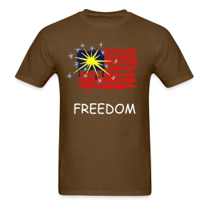 FREEDOM FLAG T SHIRT - Men's T-Shirt