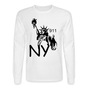 911 SWEET SHIRT - Men's Long Sleeve T-Shirt