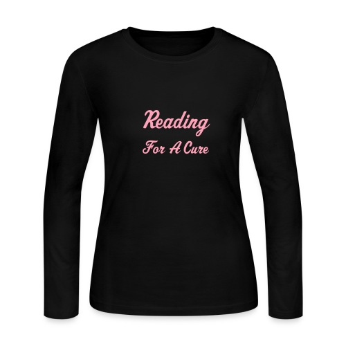 Reading for a Cure - Women's Long Sleeve Jersey T-Shirt