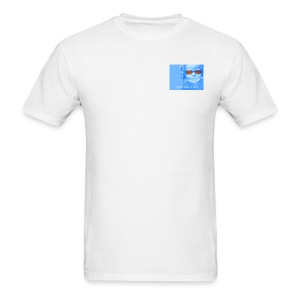 Baby Logo on White - Men's T-Shirt