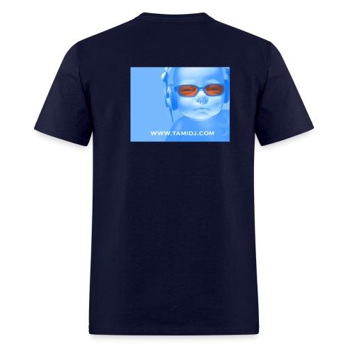 Boby Logo on Navy - Men's T-Shirt