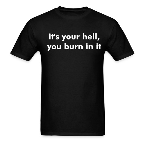 your hell - Men's T-Shirt