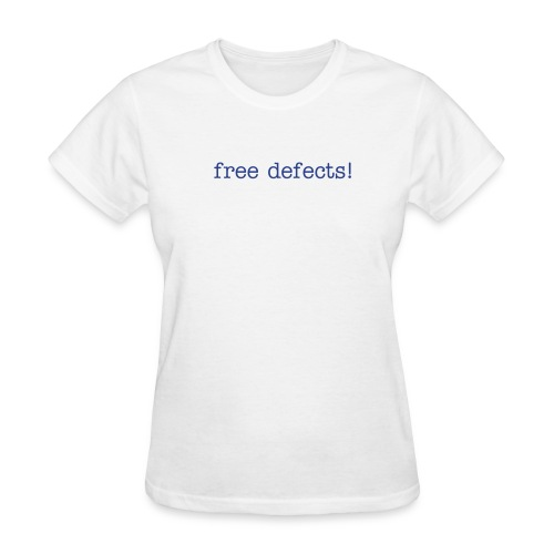 free defects! Self-Reflection Tee! - Women's T-Shirt