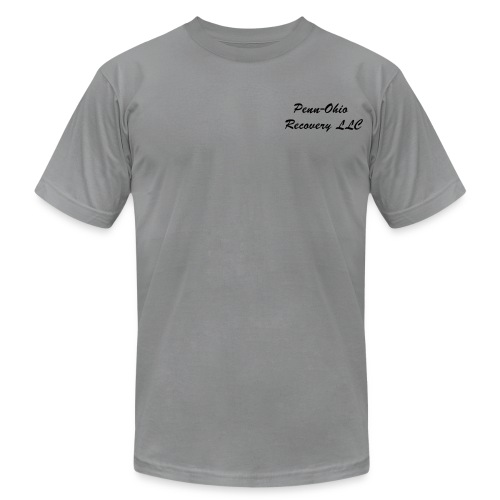 Grey Penn-Ohio Recovery LLC - Men's Fine Jersey T-Shirt