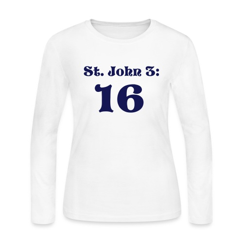 Long Sleeve St. John - Women's Long Sleeve Jersey T-Shirt