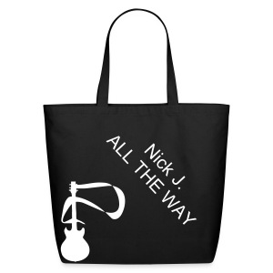 Nick J. All the Way - Eco-Friendly Cotton Tote