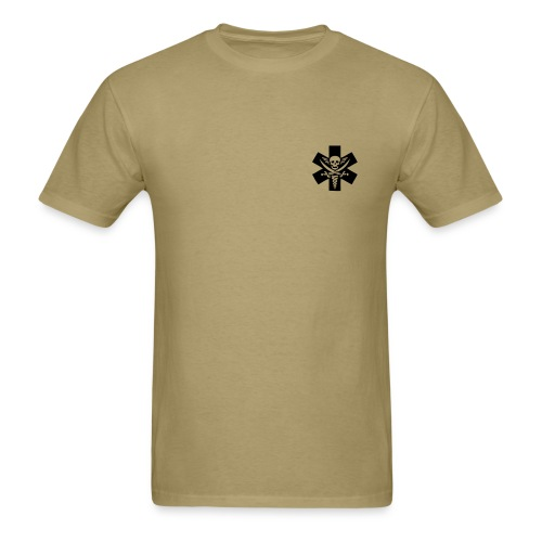 Medic 2 - Do No Harm, Do Know Harm - Khaki - Men's T-Shirt