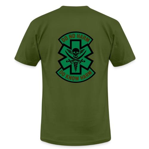 Medic 2 - Do No Harm, Do Know Harm - Olive - Men's Fine Jersey T-Shirt