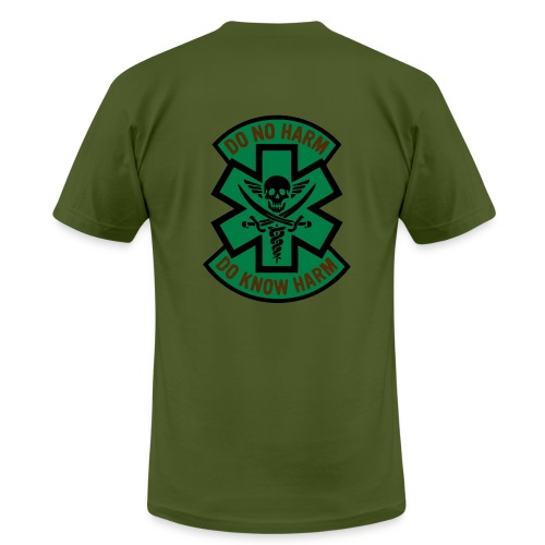Medic 2 - Do No Harm, Do Know Harm - Olive - Men's  Jersey T-Shirt