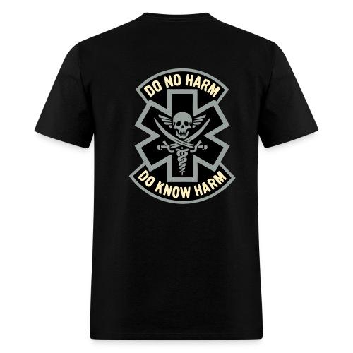 Medic 2 - Do No Harm, Do Know Harm - Black - Men's T-Shirt
