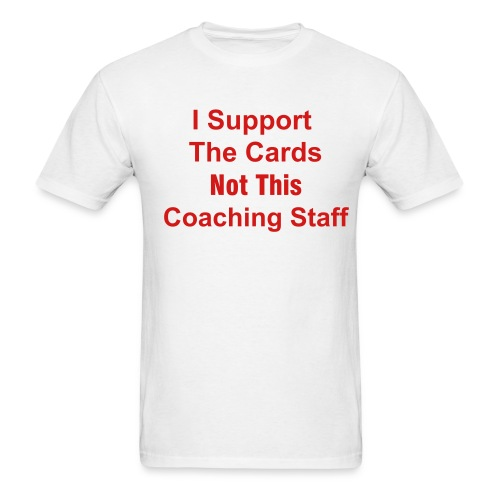 Support the Cards - Men's T-Shirt