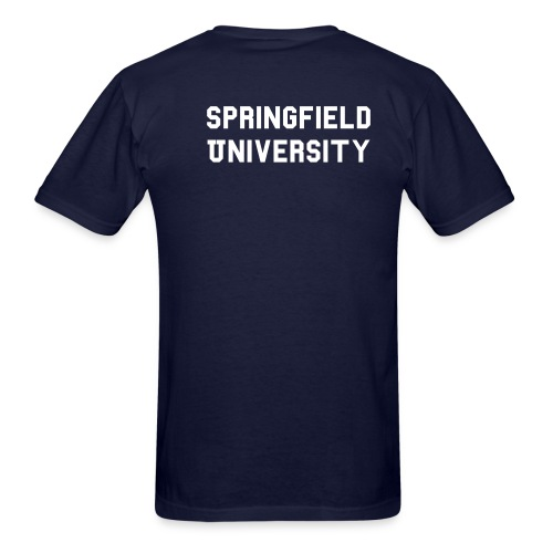 springfield university - Men's T-Shirt