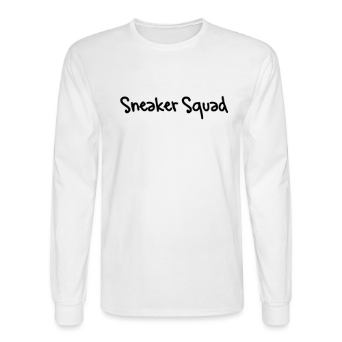 Men's Sneaker Long Sleeve - Men's Long Sleeve T-Shirt