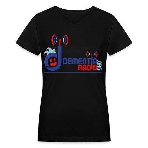 Women's V-Neck T-Shirt - blwo