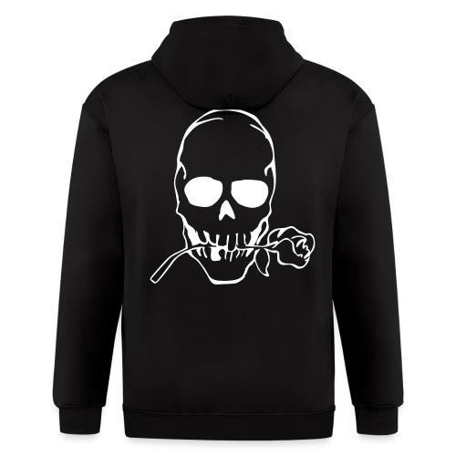 Mens skull jacket - Men's Zip Hoodie