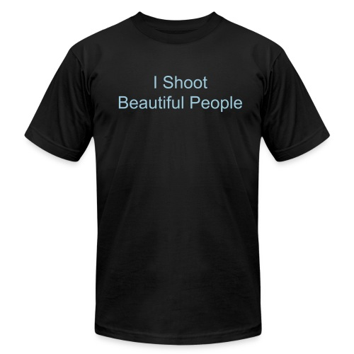 I Shoot Beautiful People AA Tee - Men's  Jersey T-Shirt