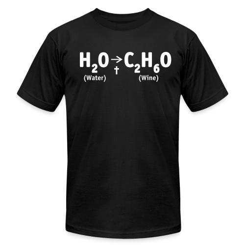 Water to Wine - Men's Fine Jersey T-Shirt