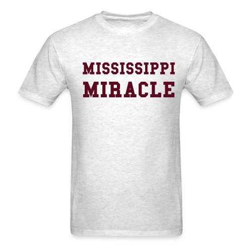 Mississippi Miracle - Men's T-Shirt