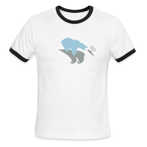 Polar bear - Men's Ringer T-Shirt