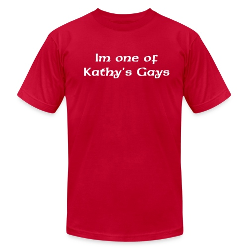 I LOVE KATHY GRIFFIN - Men's Fine Jersey T-Shirt