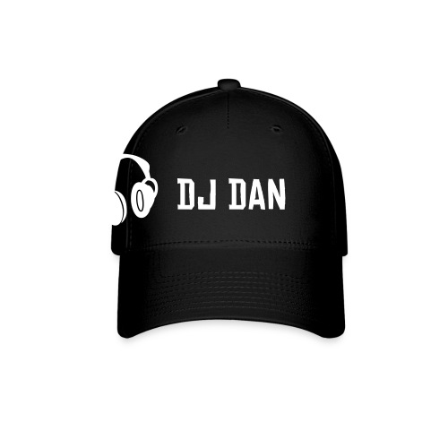 DJ DAN HAT DAN DESIGN BLACK  - Baseball Cap