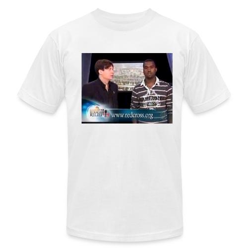 Mike & Kanye - Men's Fine Jersey T-Shirt