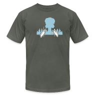 T-Shirts ~ Men's T-Shirt by American Apparel ~ [roach]
