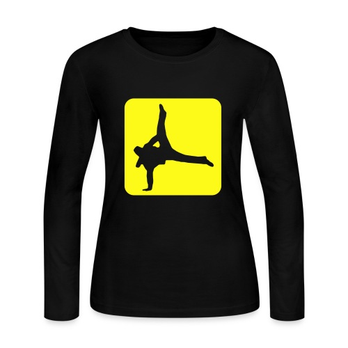 dance action - Women's Long Sleeve Jersey T-Shirt