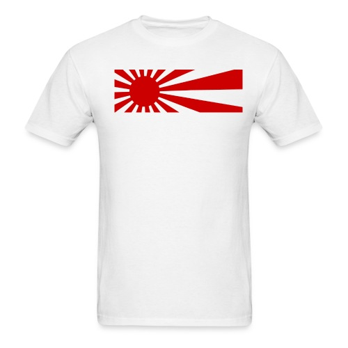 Japanese War Flag - Men's T-Shirt
