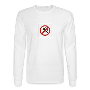 Just say NO to Commies - Men's Long Sleeve T-Shirt