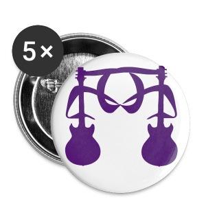 2 Guitars (Purple) 2 - Large Buttons