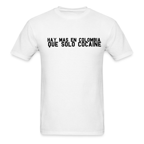 Colombia (White) - Men's T-Shirt