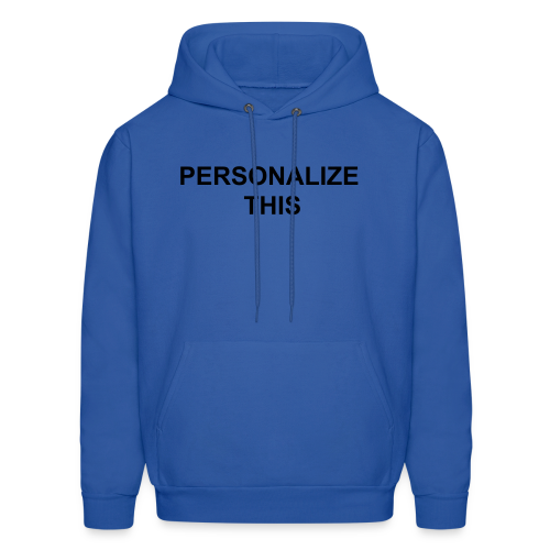 PERSONALIZE ME - Men's Hoodie