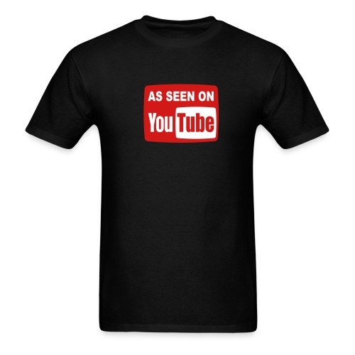AS SEEN ON YouTUBE T-Shirt - Men's T-Shirt