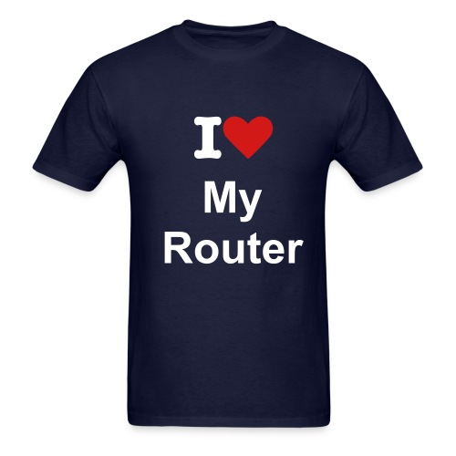 My Router - Men's T-Shirt