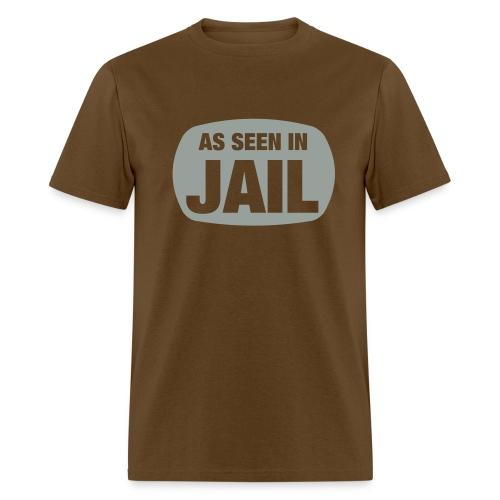 As Seen in Jail - Men's T-Shirt