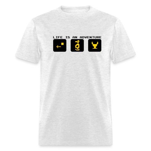 Life Is An Adventure - Men's T-Shirt