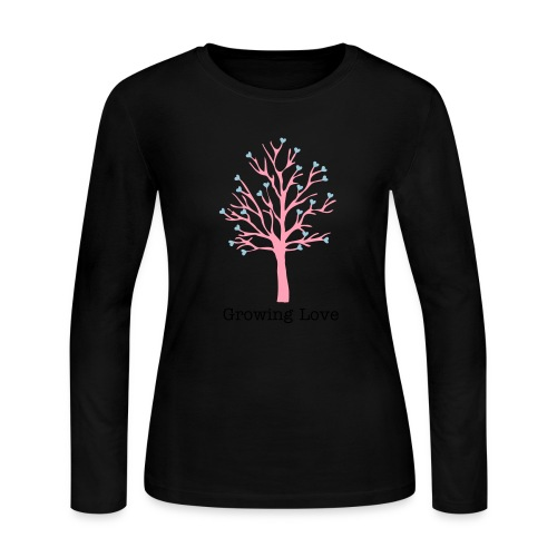 Growing Tree - Women's Long Sleeve Jersey T-Shirt