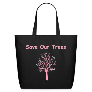 Save Our Trees Tote Bag - Eco-Friendly Cotton Tote