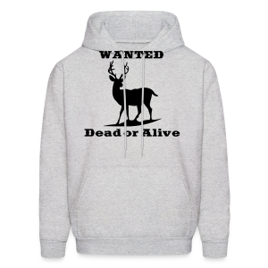 Wanted Dead or Alive - Men's Hoodie