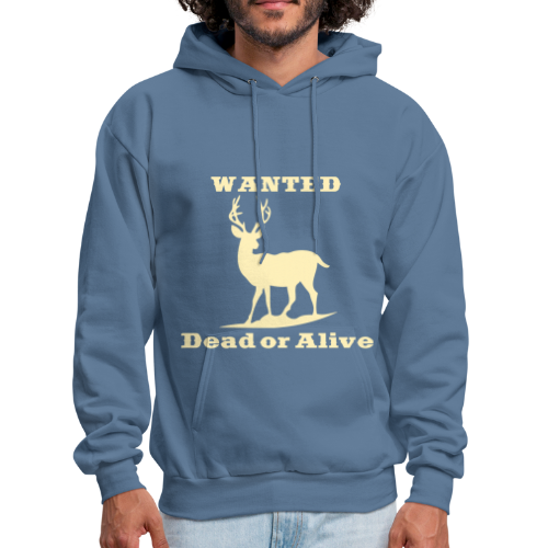 Wanted Dead or Alive - Men's Hoodie