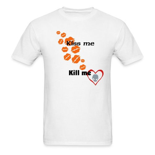 Kiss me Kill me T-shirt (Boys) - Men's T-Shirt