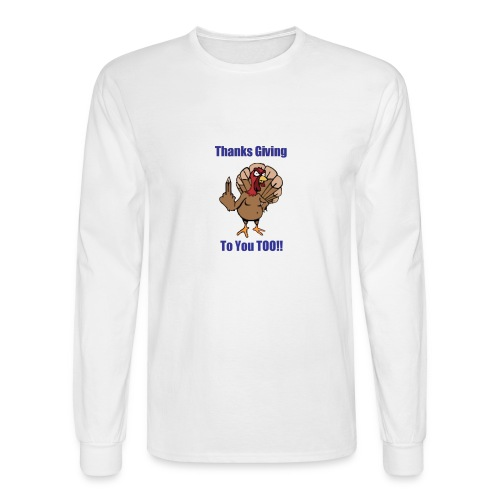 Thanksgiving - Men's Long Sleeve T-Shirt