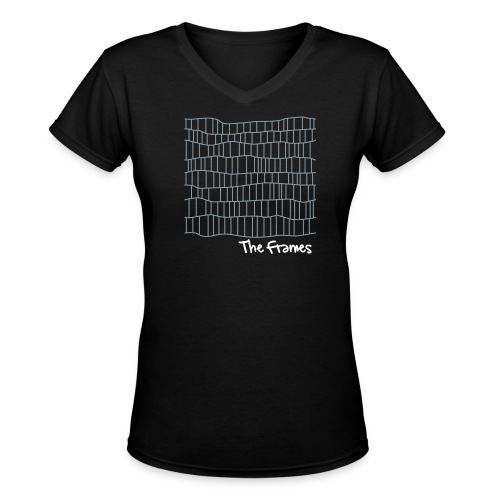 Unofficial 'Frames' fan shirt - Women's V-Neck T-Shirt